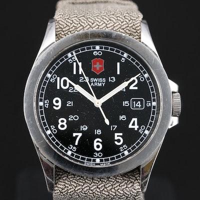 Victorinox Swiss Army Infantry Stainless Steel Quartz Wristwatch