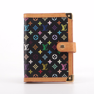 Louis Vuitton Agenda in Multicolore Monogram Canvas