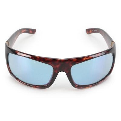 Men's Gucci Wrap Sunglasses in Havana/Tortoise with Case