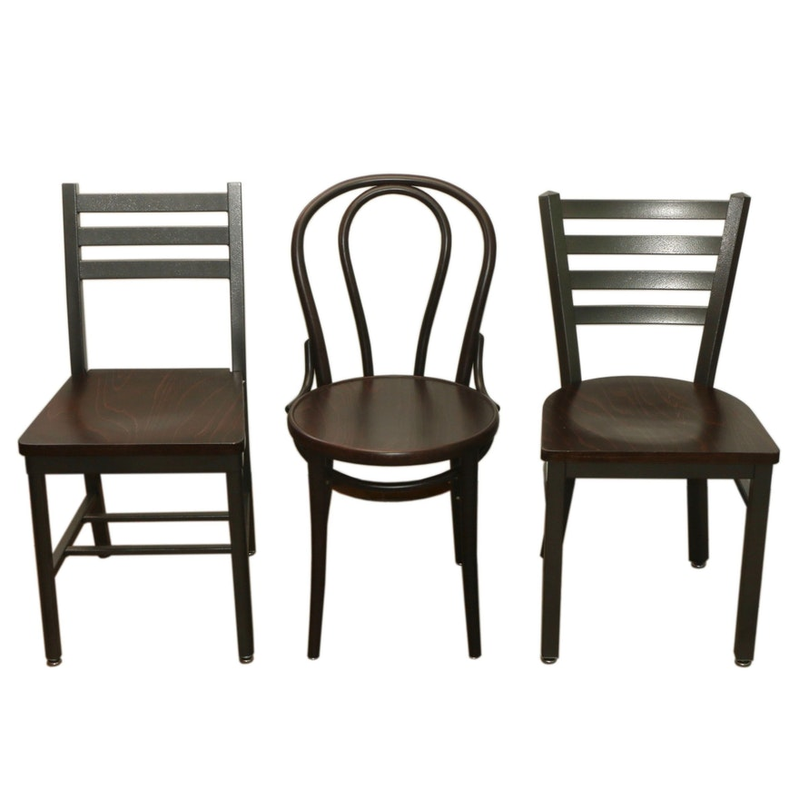 Ton Bentwood Bistro Chair and Grand Rapids Chair Co. Commercial Dining Chairs