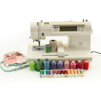 Baby Lock Pro Line Embroidery Sewing Machine and Accessories