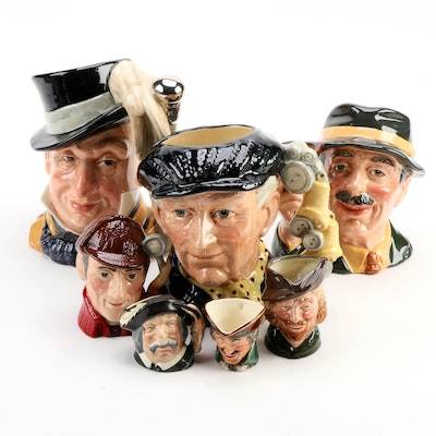 "Toby Jug Collection, Including Limited Edition ""Mr. Micawber,"" More"