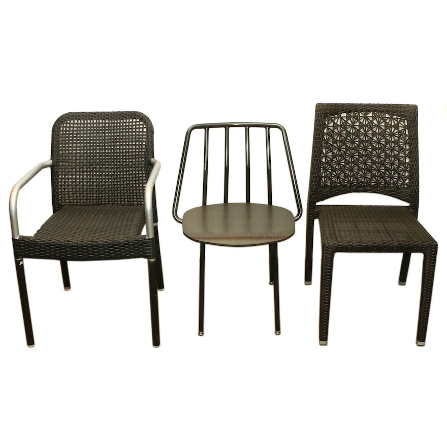 Restaurant Dining Chairs Including Grand Rapids Chair Company