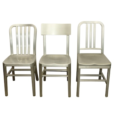 Aluminum Restaurant Dining Chairs Including Grand Rapids Chair Company