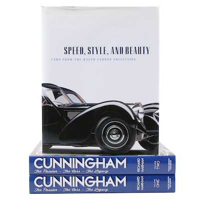 """Cunningham"" Two-Volume Set by Richard Harman with ""Speed, Style, and Beauty"""