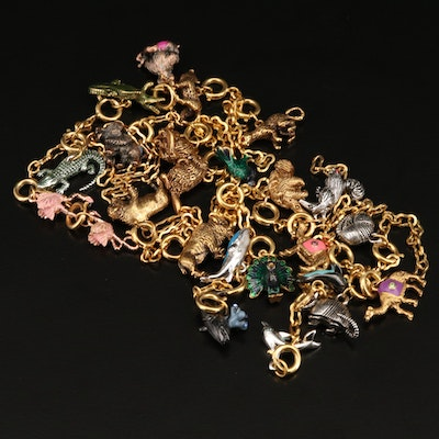 """Joan Rivers """"Noah's Ark Collection"""" Animal Pair Charms"""