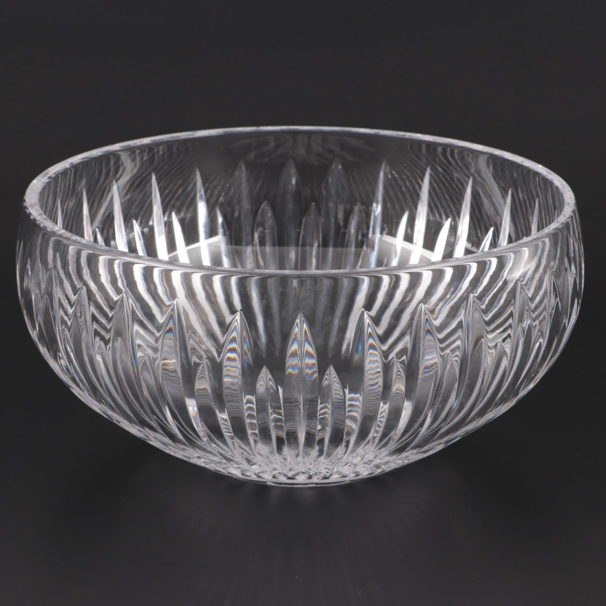 """Waterford """"Carina"""" Crystal Bowl, Late 20th Century"""