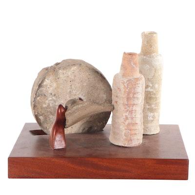 Mixed Media Assembled Sculpture