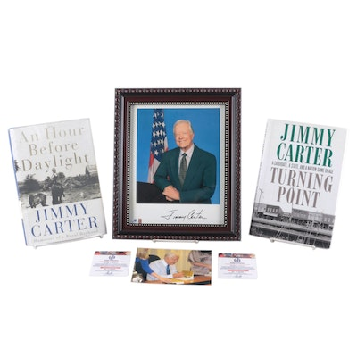 """Signed """"An Hour Before Daylight"""" by Jimmy Carter and More"""