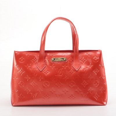 Louis Vuitton Wilshire PM in Orange Sunset Monogram Vernis