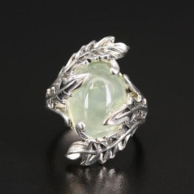SeidenGang Sterling Prehnite Ring