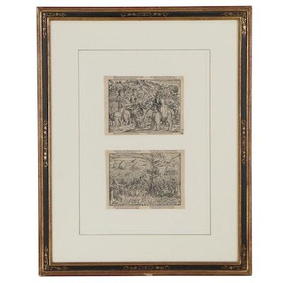 "Philip Lonicer Wood Engravings of Roman History ""Icones Liviniae"""