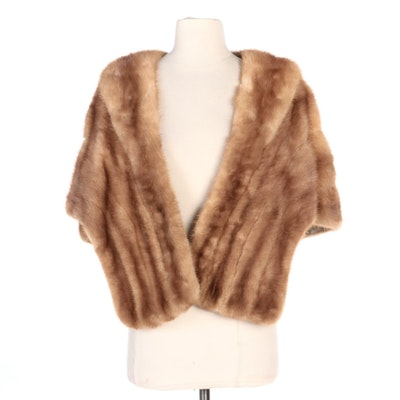 Mink Fur Stole from Tuchman Fur Salon