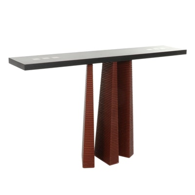 Post-Modern Composite Hall Table, 21st Century