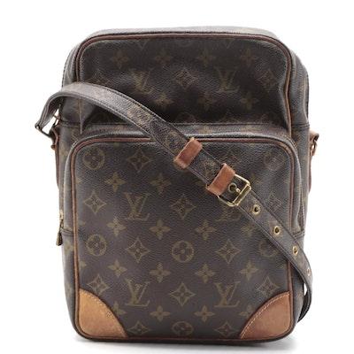 Louis Vuitton Amazone GM Bag in Monogram Canvas and Vachetta Leather