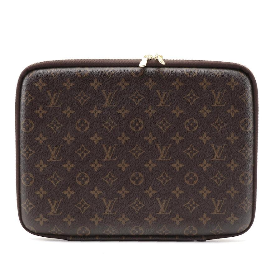 Louis Vuitton Laptop Case PM in Monogram Canvas