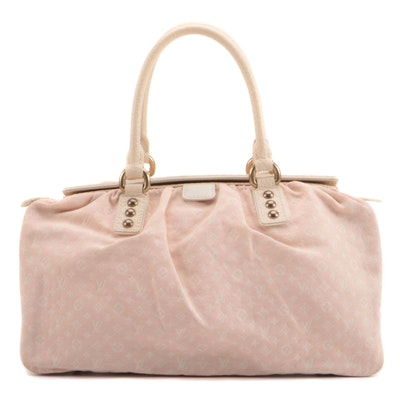 Louis Vuitton Trapeze GM in Rose Monogram Mini Lin Canvas
