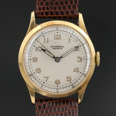 Vintage Universal Geneve 18K Wristwatch