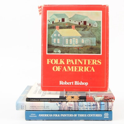 American Folk Art Reference Books, Late 20th Century