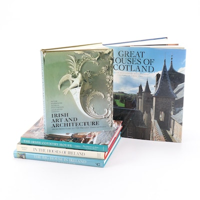 """""""In the Houses of Ireland"""" and More Irish and Scottish Architecture Books"""