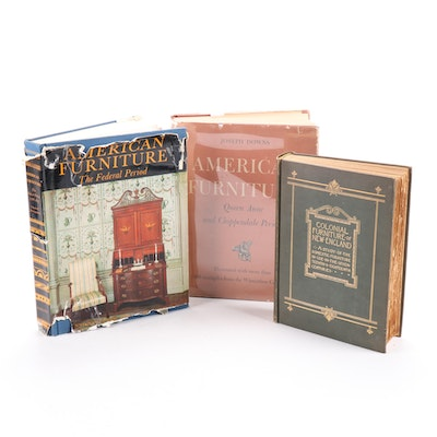 """""""Colonial Furniture of New England"""" and More Decorative Arts Books"""