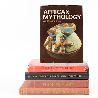 """""""African Folktales and Sculpture"""" and More African and Pre-Columbian Art Books"""