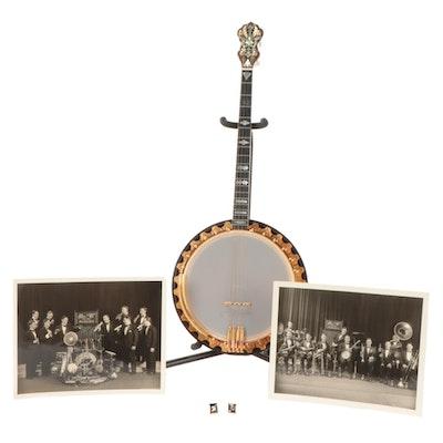 Vega Vegaphone Deluxe Tenor Banjo, circa 1925