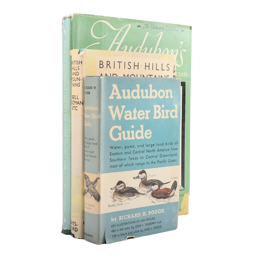 """""""Audubon Water Bird Guide"""" and More Natural Science Books, Mid-20th Century"""