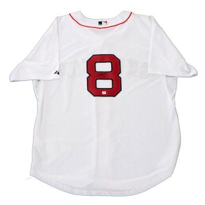 Carl Yastrzemski Signed Boston Red Sox Majestic Baseball Jersey, Global COA