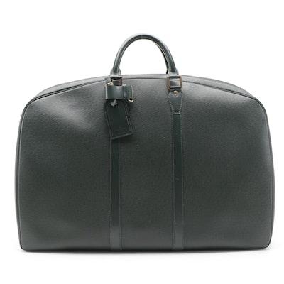 Louis Vuitton Helanga 1 Poche Travel Bag in Épicéa Taïga Leather
