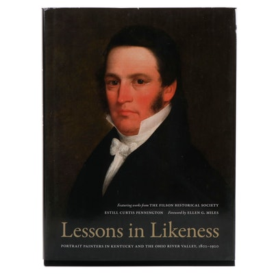 """Signed First Edition """"Lessons in Likeness"""" by Estill Curtis Pennington, 2011"""