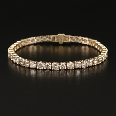 14K 9.91 CTW Diamond Line Bracelet