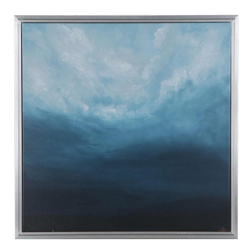 "Sarah Brown Giclée ""Ballad of Dusk,"" 21st Century"