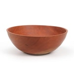 Jim Eliopulos Handcrafted Cherry Wood Bowl
