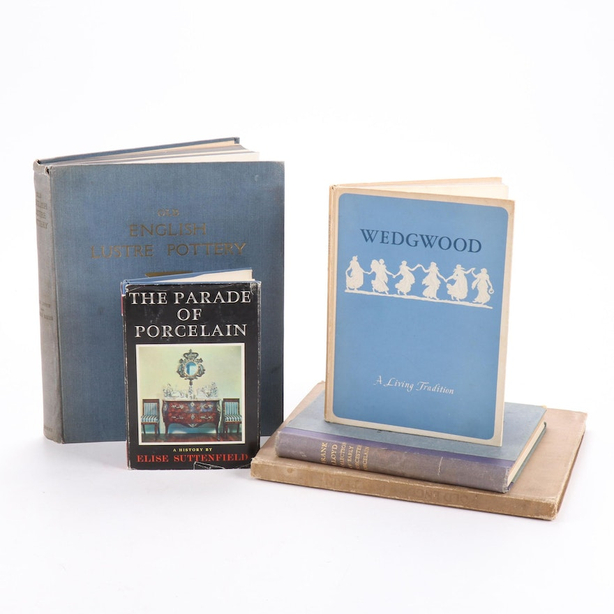 """Signed """"Wedgwood: A Living Tradition"""" by Hensleigh Wedgwood and More"""