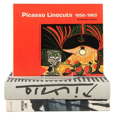 """""""Picasso Linocuts"""" and More Books on Picasso and Wifredo Lam"""