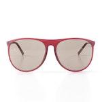 Porsche Design Red Matte Sunglasses