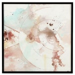 """Alberto Almarza Mixed Media Painting """"Planetary Events IV,"""" 2021"""