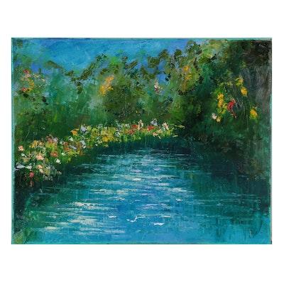 Dottie Abramowski Landscape Oil Painting, 2020