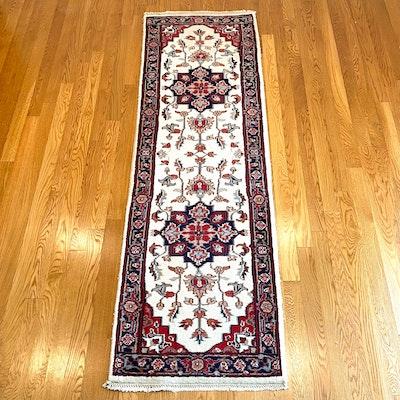 2'7 x 8'8 Hand-Knotted Surya Indo-Persian Heriz Serapi Carpet Runner