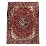 9'5 x 12'8 Hand-Knotted Persian Tabriz Room Sized Rug