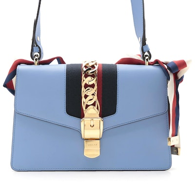 Gucci Sylvie Small Shoulder Bag with Interchangeable Straps