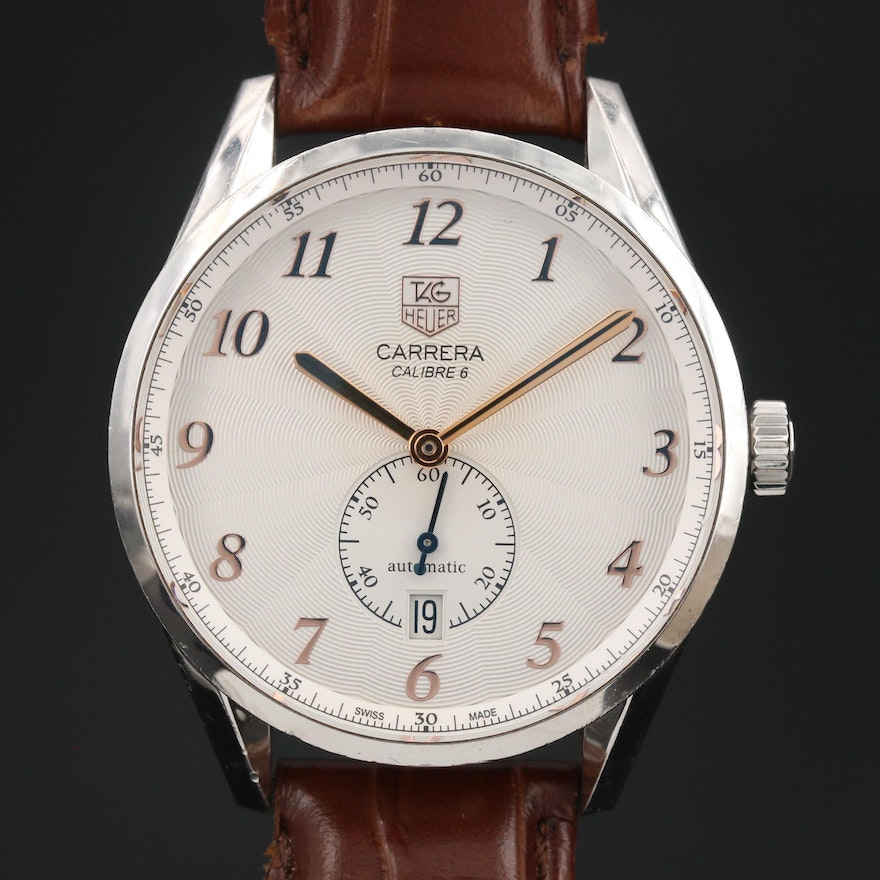TAG Heuer Carrera Stainless Steel Automatic Wristwatch