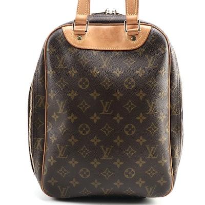 Louis Vuitton Excursion Travel Bag in Monogram Canvas