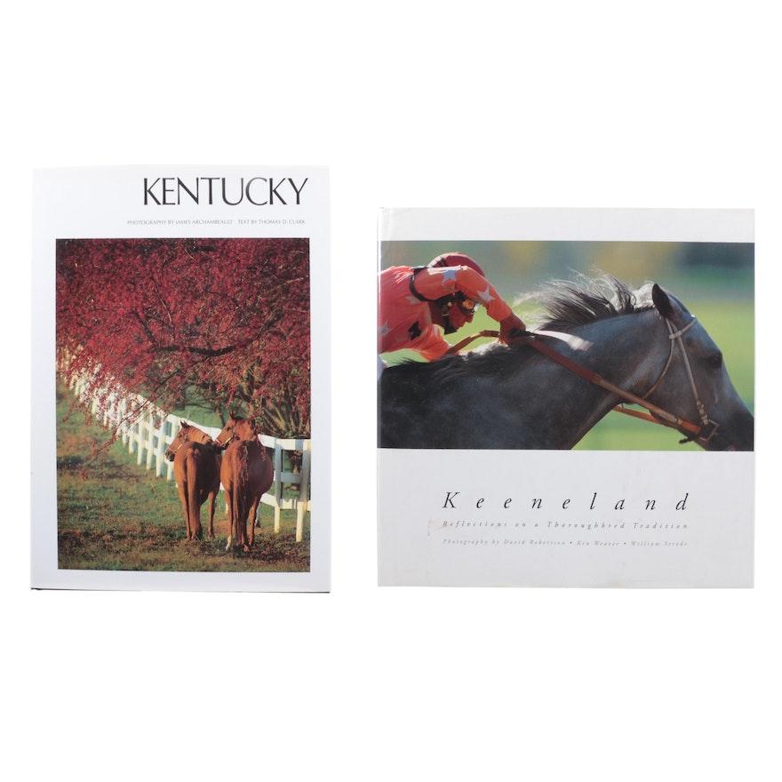 """Keeneland"" and ""Kentucky"" Photography Books"