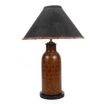 Handcrafted Table Lamp with Sedgefield Shade