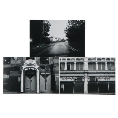 Christopher Barron Black-and-White Digital Photographs, 21st Century