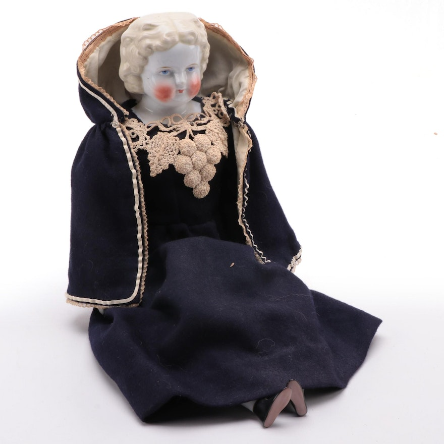 Bawo & Dotter Porcelain Doll, Late 19th to Early 20th Century