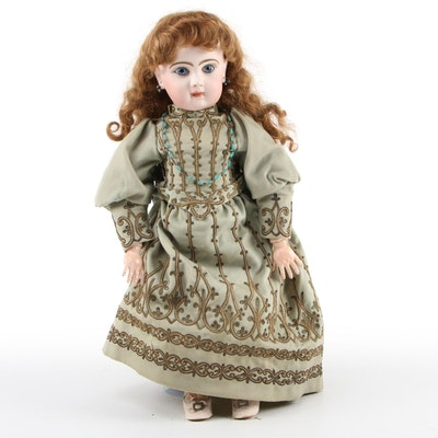 """Jumeau Bébés """"Annette"""" Bisque Doll, Late 19th to Early 20th Century"""