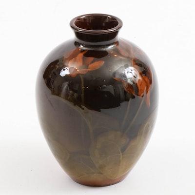 Howard Altman Rookwood Pottery Standard Glaze Vase, 1900